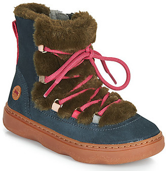 Camper TWSS girls's Mid Boots in Brown