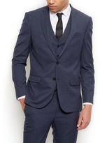 New Look Blue Slim Fit Suit Jacket