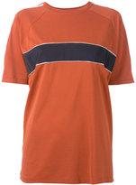 Grace Wales Bonner - contrast T-shirt - women - Silk/Cotton - M