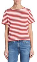 AG Jeans Kyle Striped Cropped Tee