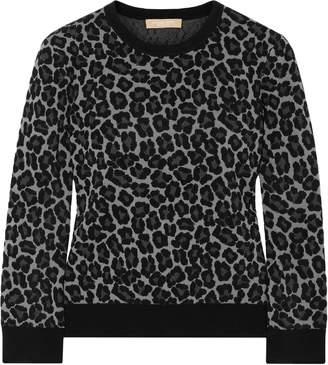 Michael Kors Jacquard-knit Sweater