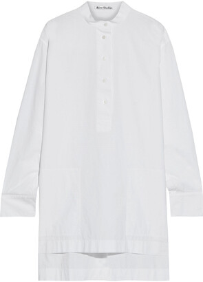Acne Studios Cotton-poplin Tunic
