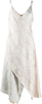 Sies Marjan Alicia snakeskin print dress