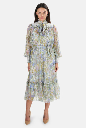 Zimmermann Super Eight Midi Dress