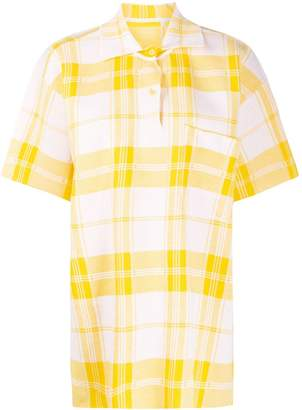 Jacquemus Torchon checkered polo shirt