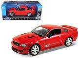Welly 12569 2007 Ford Mustang Shelby Saleen S281E Red 1/18 Diecast Model Car