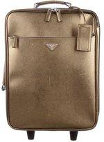 Prada Saffiano Leather Trolley Luggage