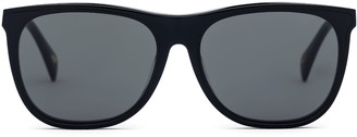 Larsson & Jennings Black Wayfarer Sunglasses
