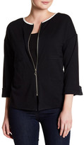 Joan Vass Zip Jacket