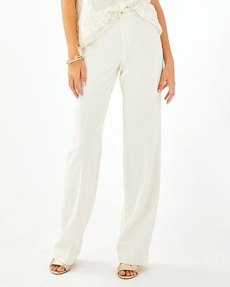 """Lilly Pulitzer 33"""" Malorie High Rise Stretch Trouser"""