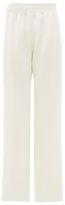 Gabriela Hearst Themis High-rise Silk Flared Trousers - Ivory