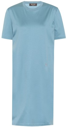 Loro Piana My-T cotton T-shirt minidress