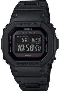 G-Shock G Shock Stainless Steel and Resin Digital Watch
