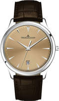 Jaeger-LeCoultre Jaeger Le Coultre 1288430 Master alligator-leather and stainless steel watch