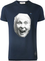 Vivienne Westwood Man - face print T-shirt - men - Cotton - M