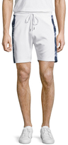 Bikkembergs Cotton Contrast Side Stripe Shorts