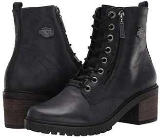 Harley-Davidson Annetta (Dark Grey) Women's Boots