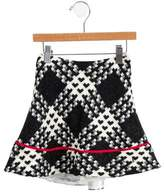 Helena Girls' Patterned Skirt