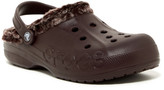 Crocs Baya Faux Fur Lined Clog