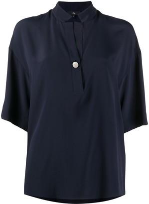 Fay Loose Fit Short Sleeve Shirt