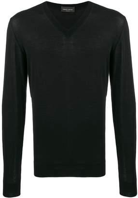 Roberto Collina V-neck knit top