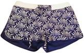 Princesse Tam-Tam Blue Cotton Shorts for Women