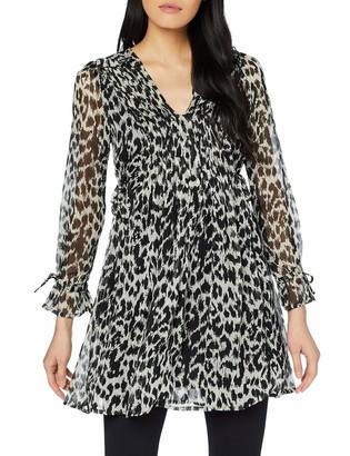 Joe Browns Women's Animal Style Tunic Long Sleeve Top Grey (Greys (Size:10)