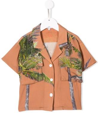Duoltd Palm Tree Print Shirt