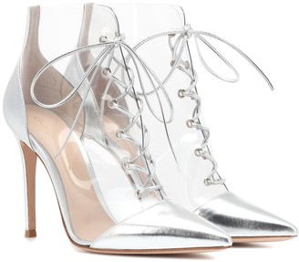 Gianvito Rossi Icon 105 PVC ankle boots