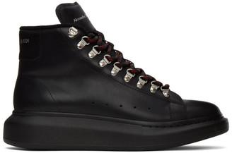 Alexander McQueen Black Hybrid Hiking Boots