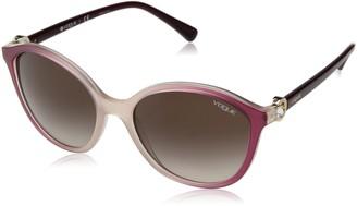 Vogue Women's VO5229SB Oval Sunglasses