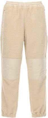 MONCLER GENIUS Polar Fleece & Nylon Track Pants