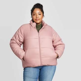 Universal Thread Women's Plus Size Puffer Jacket - Universal ThreadTM