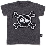 Nununu Boy's Skull Patch T-Shirt