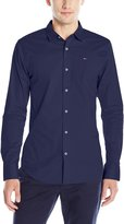 Tommy Hilfiger Men's Original Stretch Long Sleeve Button Down Shirt