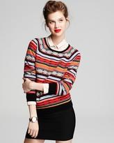 Cashmere Sweater - Fair Isle Crewneck