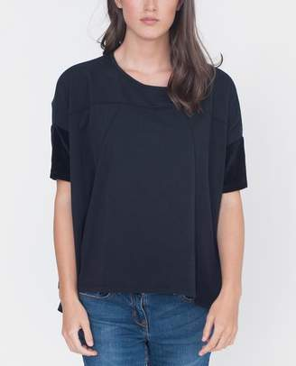 Beaumont Organic Jessie Organic Cotton Top - Black / M/L - Black