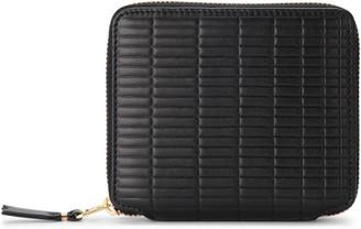 Comme des Garcons Brick Line Black Leather Wallet