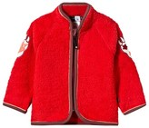 Molo Urvan Fleece Jacket In True Red