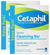 Cetaphil Galderma Gentle Cleansing Bars - 3 Pack