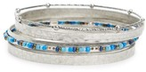 Women's Treasure & Bond Set Of Five Bangles
