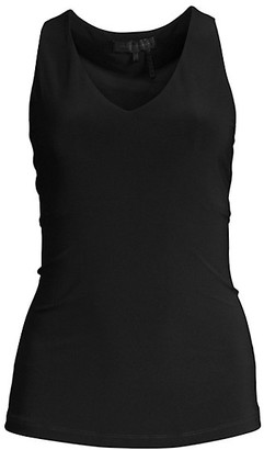 Donna Karan Icons Sleeveless V-Neck Top