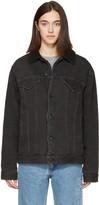 Earnest Sewn Black Denim Oversized Cecil Jacket