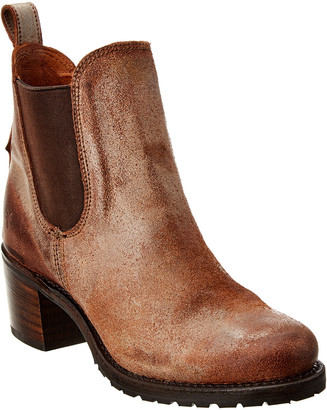 Frye Sabrina Leather Chelsea Boot