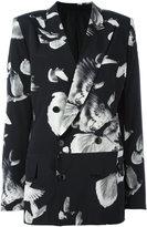 A.F.Vandevorst floral print blazer - women - Silk/Spandex/Elastane - 36