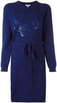 Kenzo Tiger pointelle sweater dress - women - Cotton - M