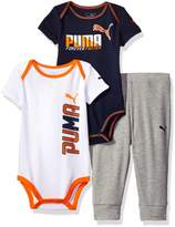 Puma Boys' 3 Piece Creeper Pant Set