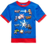 Nintendo Mario Graphic-Print Cotton T-Shirt, Toddler & Little Boys (2T-7)