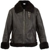 Vetements Oversized shearling jacket