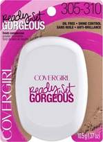 Cover Girl Ready, Set Gorgeous Compact Powder Foundation - Medium/Deep 305/310 (Pack of 2)